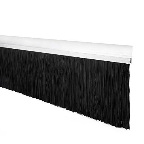 sourcingmap Türboden Fegen H-Form Basis mit 4,8-Zoll Nylon Pinsel 40-Zoll x 5,83-Zoll - Nylon Pinsel Tür Fegen