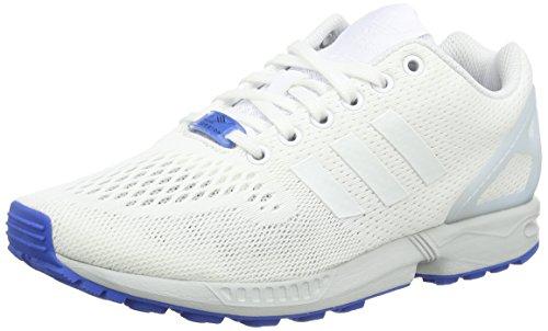 adidas ZX Flux Herren Laufschuhe Weiß (Ftwr White/Ftwr White/Clear Grey)