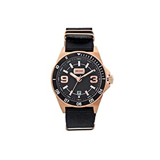 Just Cavalli Reloj Analogico para Hombre de Cuarzo con Correa en Tela JC1G014L0035