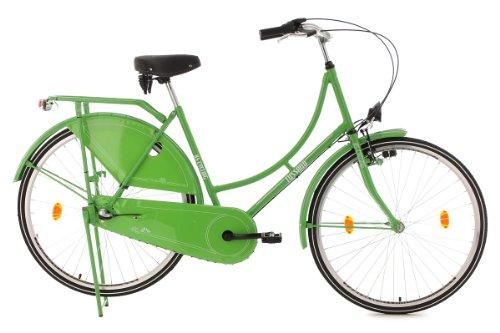 KS Cycling Damen Fahrrad Hollandrad Tussaud 3-Gänge, Grün, 28 Zoll, 322H