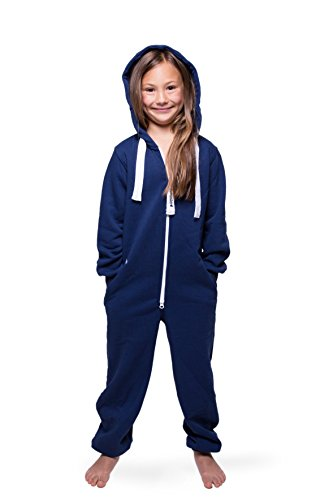 Jumpster Jumpsuit Kinder Overall KIDS Pures Blau S (122-128)