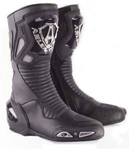 Motorbike Red & White Protective Boots- Waterproof (UK 7 / Euro 41) yAxmZ3eywT