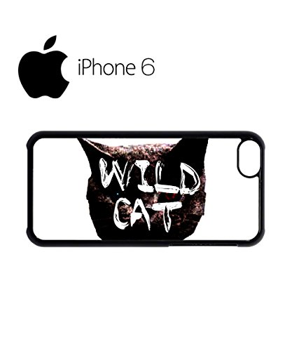 Wild Cat Kitten Meow Roar Swag Mobile Phone Case Back Cover Hülle Weiß Schwarz for iPhone 6 White Weiß