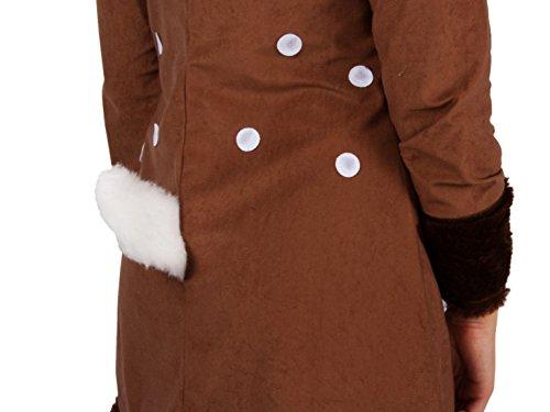 Preiswert Reh Kleid Rehkitz Exklusiv Rehkostum Kostum Damen Tier