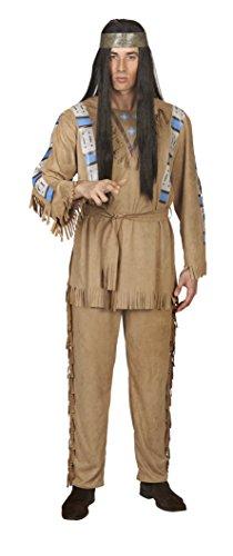 (Andrea-Moden 4600-50/52 Figuren & Charactere Indianer-Anzug Bullyparade-Der Film, Mehrfarbig, 50/52)