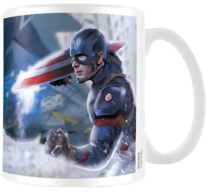 Captain America Civil War War Ceramic Mug, Multi-Colour by Captain America Civil War