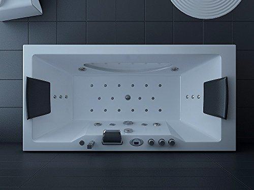 Luxus Whirlpool Badewanne 180x90 in Vollausstattung (Massage) - Sonderaktion - 5