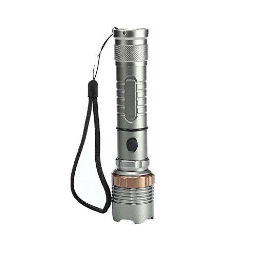 Poetryer LED Taschenlampe, IP65 Wasserfest, Super Helle 15000 Lumen Taschenlampe für Camping, Wandern und Notfälle (Starke Lumen Taschenlampe)