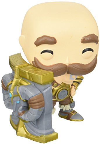 Funko Braum Figura de Vinilo, colección de Pop, seria League of Legends, (10304)