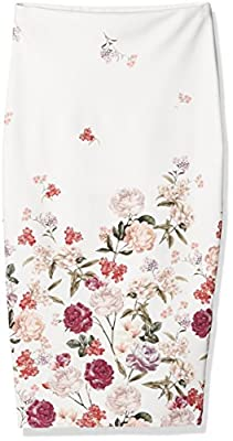 New Look Women's Luca Floral Skirt