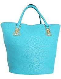 Clicktin Women's Shoulder Bag (Blue, CLKBAG167)