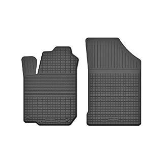 KO-RUBBERMAT 2 Stück Gummifußmatten Vorne geeignet zur Citroen C8 (Bj. 2002-2012) ideal angepasst