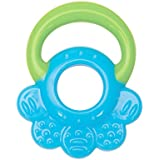Mee Mee Multi-Textured Silicone Teether (Single Pack, Blue Green)