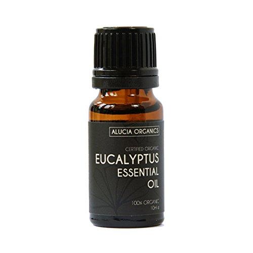 Alucia Organics Aceite Esencial de Eucalipto Eucalyptus orgánico certificado 10ml