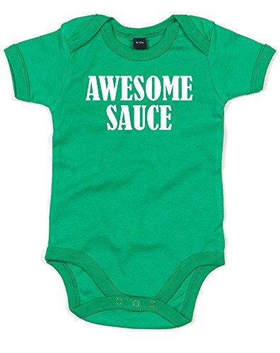 awesome-sauce-impreso-bebe-crecen-verde-blanco-12-18-meses