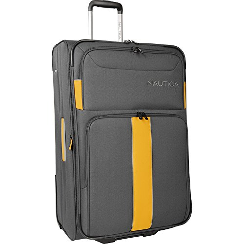 nautica-seaford-28-rolling-expandable-suitcase-grey-yellow