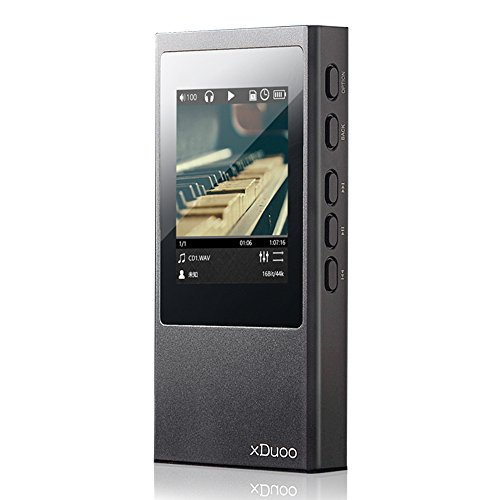 Docooler xDuoo X20 HiFi Music Player High Fidelity Digital Audio Player Verlustfreie Audio Player Unterstützung DSD Apt-X Aptx Bluetooth 4,1 2,5 mm Ausgeprägte Schwarz - Plattenspieler High-fidelity