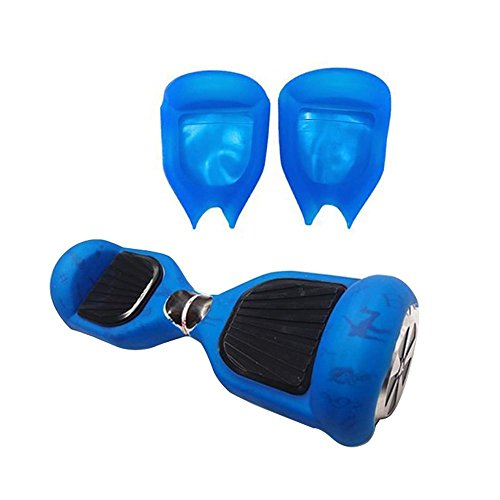 Bleu Coque de Protection en Silicone Peau Pour Housse en 6,5 pouces Smart d'équilibre Trottinette électrique Hoverboard Scooter
