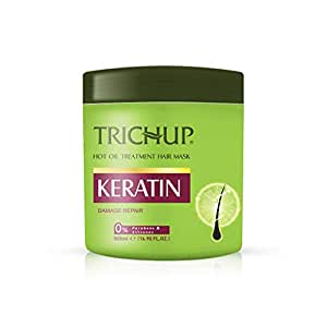 Trichup Keratin Hot Oil Treatment Hair Mask For Flexible, Strong & Manageable Hair - 500ml