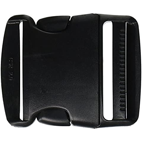Side Release Buckle 2-Black by SmartSign by (Digitale Abbellimenti)