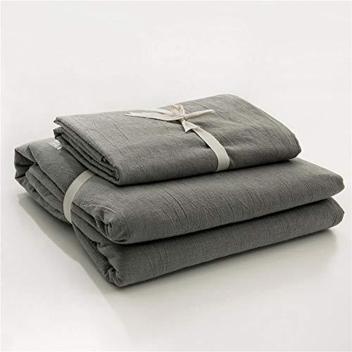 SN4Y 4er-Set Bettwäscheset Baumwolle Comfort Fit Skin Sheet Set @ ER-22_Doubles