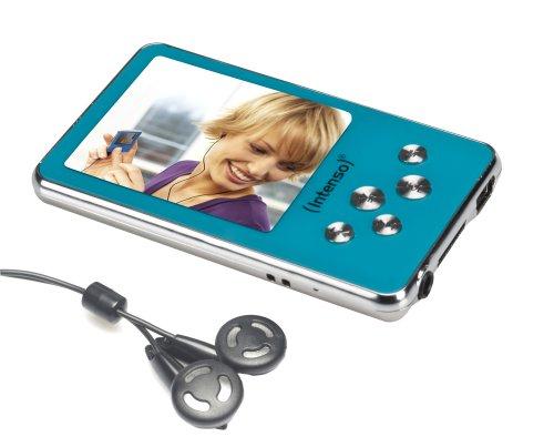Intenso Video Driver MP3-/Video-Player 4 GB (5,1 cm (2 Zoll) Display) blau