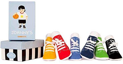 Trumpette Baby-socken (Trumpette Socken Johnnys 6er-Pack für Kleinkinder,Toddler 1-2 Jahren, 12-24 Monate)