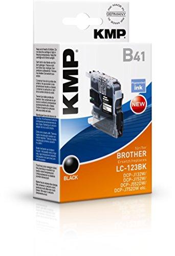 Preisvergleich Produktbild KMP Tintenkartusche für Brother DCP-J132W/DCP-J4110DW, B41, black