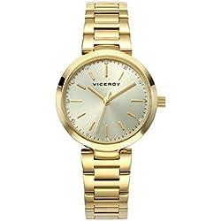 Reloj Viceroy Mujer 40864-25 Acero Dorado