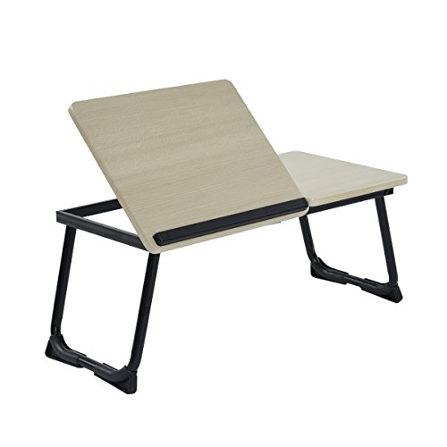 coavas Portable Laptop Stand Table Soporte Ajustable para portátil Mesa Plegable Laptop Desk Reading Desk (Negro)