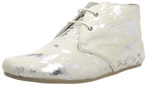 silver Gimlet Maruti white splash Stivali Donna Hairon Leather xfnqqw604R