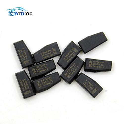 Generic PCF7936AA Lot de 20 puces de transpondeur PCF7936AS pour clé de Voiture, PCF7936,PCF 7936 (Puce transpondeur ID46)