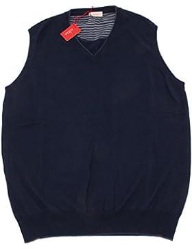 4966O maglione gilet ALTEA blu scuro maglioni uomo sweater men