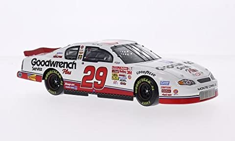 Chevrolet Monte Carlo, No.29, Richard Childress Racing, GM Goodwrench Service Plus, Nascar, 2001, Modellauto, Fertigmodell, Lionel Racing 1:24