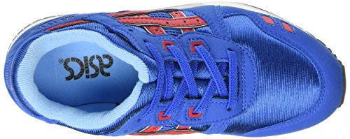 Asics Gel-lyte Iii Ps Unisex-Kinder Sneaker Blau (classic Blue/classic Red 4223)