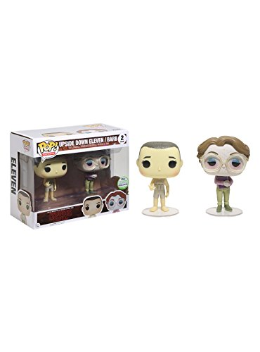 Funko Pop! Stranger Things - Exclusivo ECCC 2017 Pack Upside Down Eleven y Barb