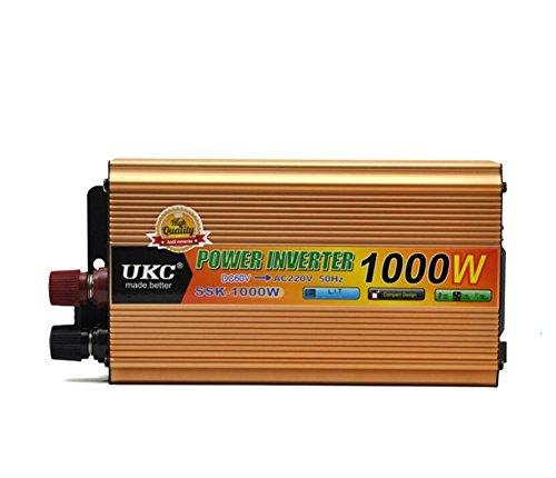 Spannungswandler KDLD Auto Power Inverter 1000W DC 60V bis 220V AC Fahrzeug-Konverter Auto hochwertige Inverter-Netzteil-Schalter On-Board-Ladegerät USB Dc-inverter-board