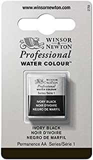 Winsor and Newton Artists Watercolour Ivory Black (1) Half Pan (B0014ZNJH6) | Amazon price tracker / tracking, Amazon price history charts, Amazon price watches, Amazon price drop alerts