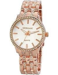 Excellanc llanc–Reloj de pulsera analógico para mujer cuarzo Varios materiales 150842500008