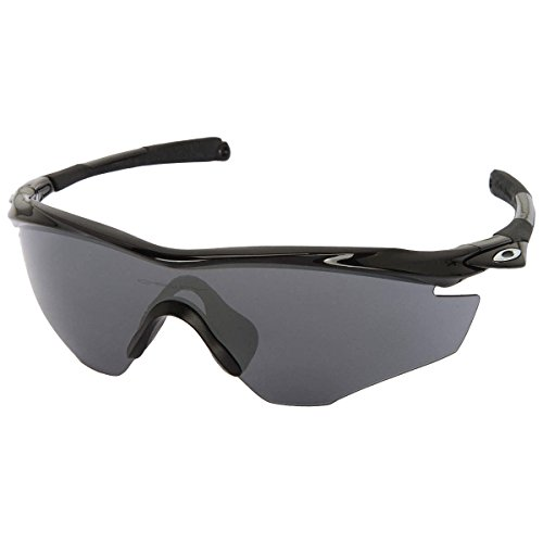 Oakley Herren Sonnenbrille M2 Frame, Polished Black/G3 Iridium (S2), One Size