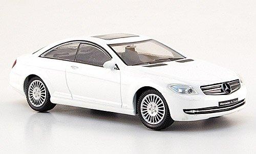 Mercedes CL-Klasse, weiss, Modellauto, Fertigmodell, Mondo Motors 1:43