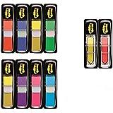 Post-It 683-VAD1 - Pack de 8 índex pequeños y 2 flechas, colores surtidos