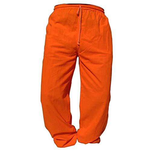 PANASIAM E\'Pants Long, Cotton, orange, L
