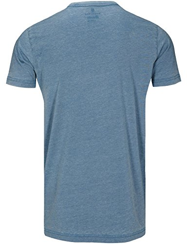 Basefield Herren T-Shirt 1/2 Arm - Dusty Petrol (218000579) 505 DUSTY PETROL