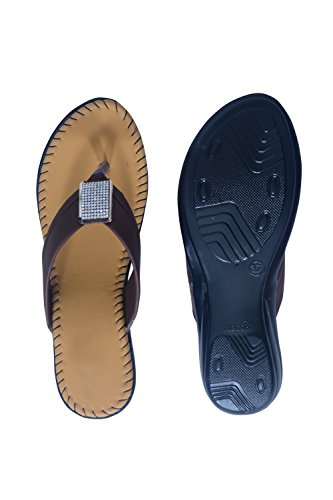 Ladies Flats Synthetic Latest Brown Comfortable Fashion Collection Stylish FootwearGirl's Casual New Women's nk0OwPXN8