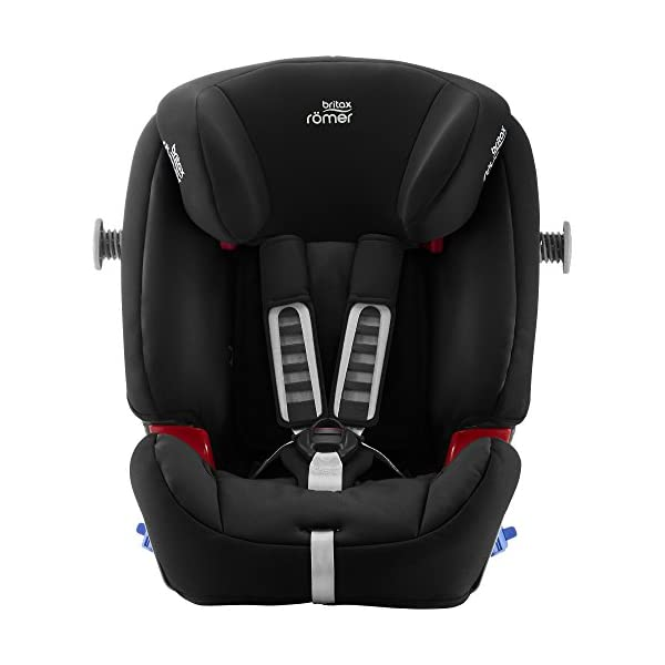 Britax Römer MULTI-TECH III Car Seat (9 Months-6 Years|9-25 kg), Cosmos Black  Advanced side impact protection - the SICT feature offers superior protection to your child in the event of a side collision Extended rearward facing - rearward facing car seats offer the best protection in the event of a frontal collision - the most frequent type of accident on the roads Deep, protective side wings - the soft, padded side wings act as a protective cocoon that helps to absorb the force from a side impact, reducing the risk of injuries to your child 6
