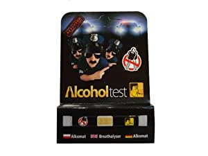 Alkoholtester / Promilletester / Alkoholtest / Einweg Alkoholtester, 1 Stück