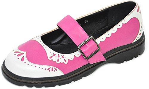 inamagura-pink-n-white-budapester-mary-janes-pink-rockabilly