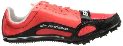 Brooks Pr Sprint 11.38 Damen Leichtathletikschuhe Fiery Coral/Electric Blue/Black