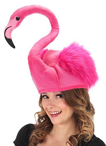 Pink Flamingo Beach Party Kostüm-Hut - Einheitsgröße für ()